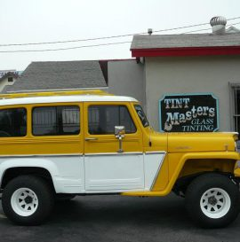 Classic Willys Jeep Station Wagon