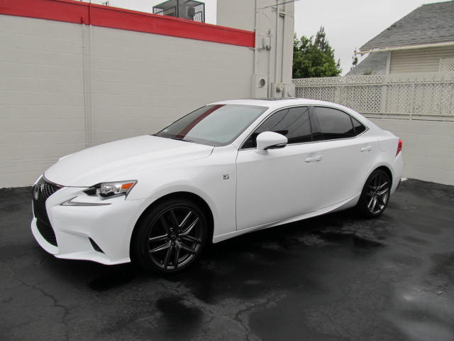 Lexus IS350 tinted with CS35 on the 2 front doors, and CS20 on the rear section.