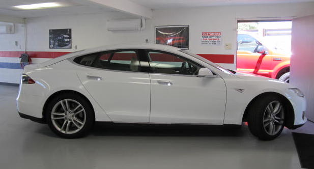 2016 Tesla Model S Prior to Installation