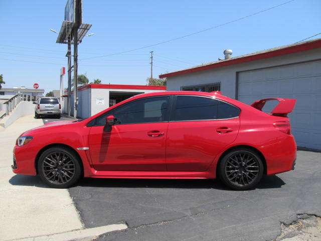 2016 Subaru WRX tinted with CS35 on the two fronts and CS20 on the rear section.