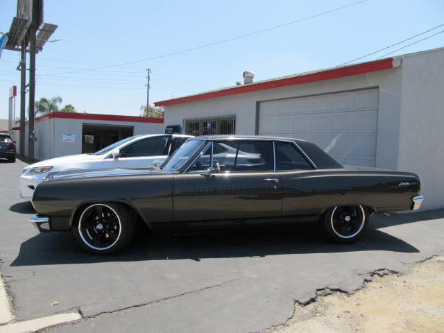 1965 Malibu tinted with 3M Color Stable 35% on all the sides to match the rear glass.