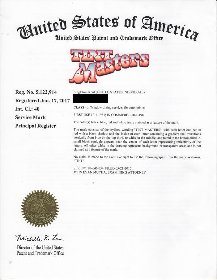 Official Trademark!